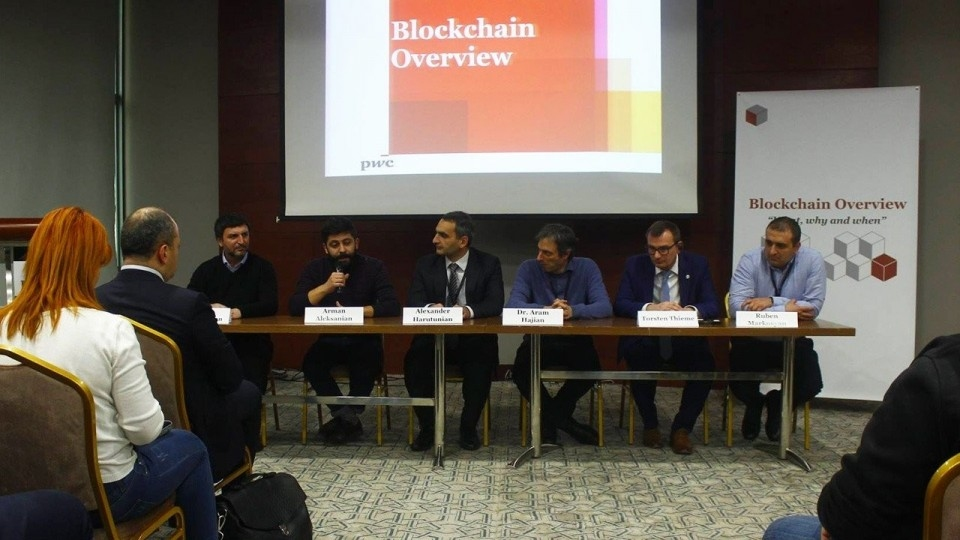 Blockchain R&D Hub and PwC Armenia presented the blockchain opportunities for Armenia